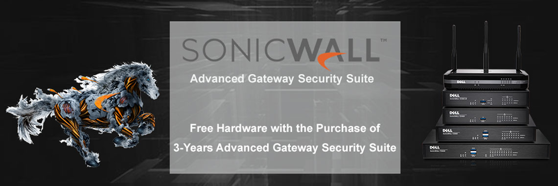 Free Appliance Upgrade with 3 Years of Advanced Gateway Security Suite(AGSS) Purchase!